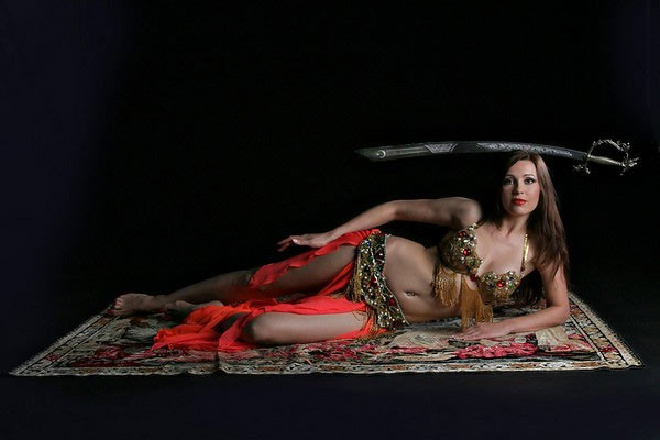 Belly dancer Aisha