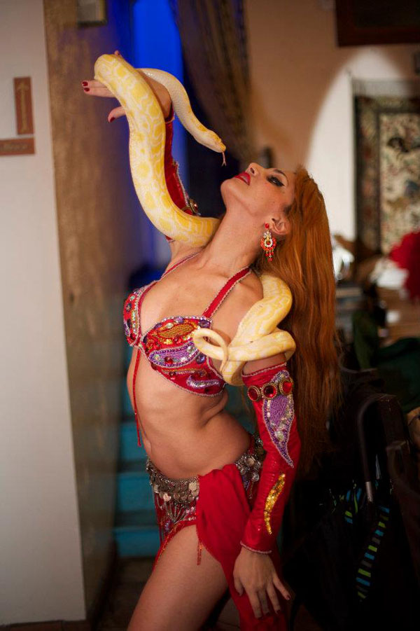Erotic snakes