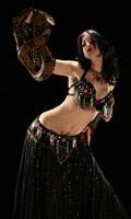 Snake Dancer Maiiah from Connecticut, Photographer Steward Noack, House of Indulgence, www.thehouseofindulgence.com