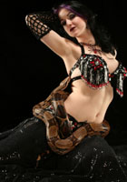 Belly Dancer Maiiah from Connecticut, Photographer Steward Noack, House of Indulgence, www.thehouseofindulgence.com
