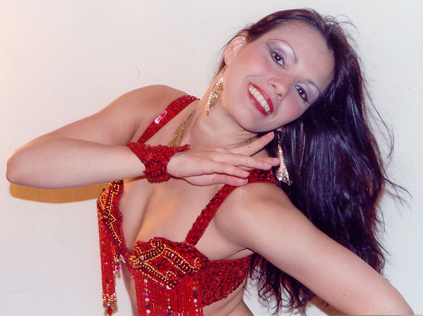 Belly dancer Marta