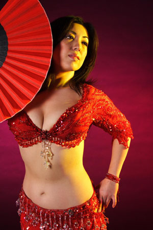 Belly dancer Sadiya from New York City