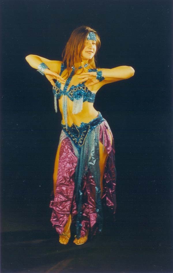 Belly dancer Victoria from New York City