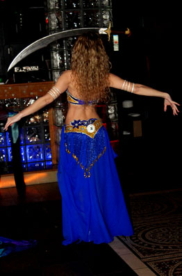 Belly dancer Yuliya